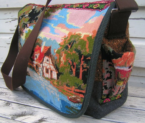 new embroidery bag