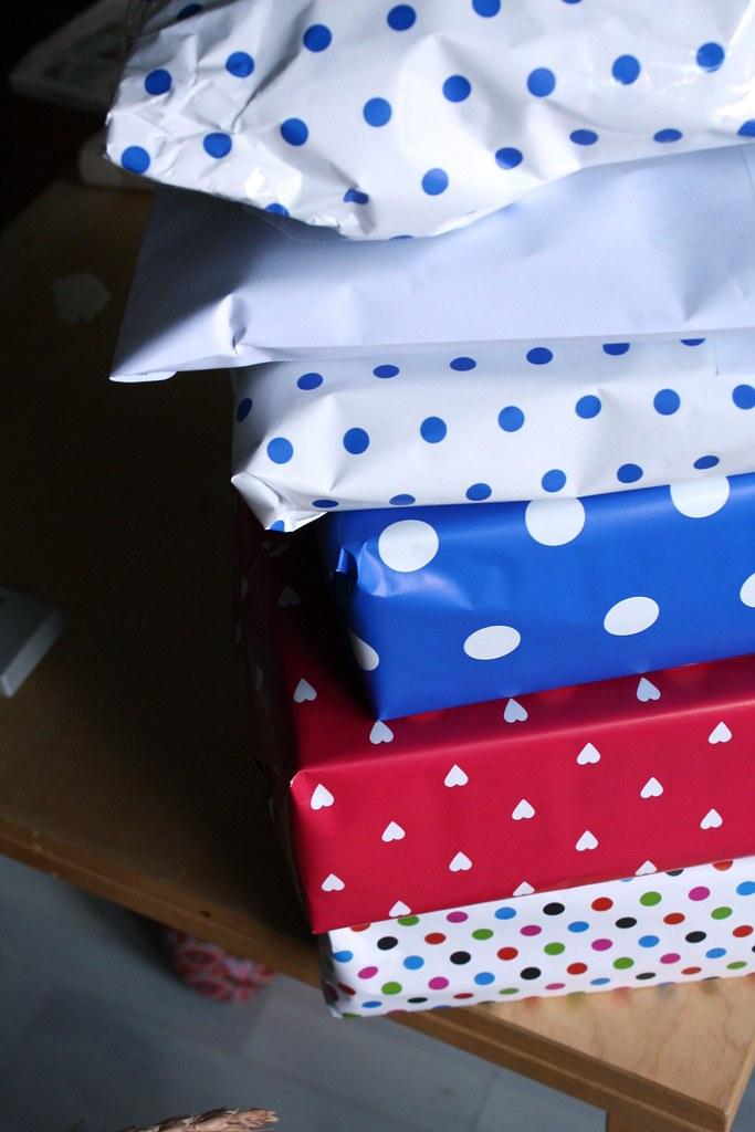 Tausch Päckchen für Eni, Doreen, Fliegenpilz und Julia und Bestellungen