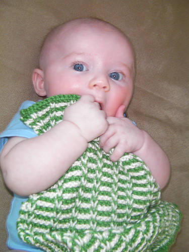 week15- baby genius burp cloth