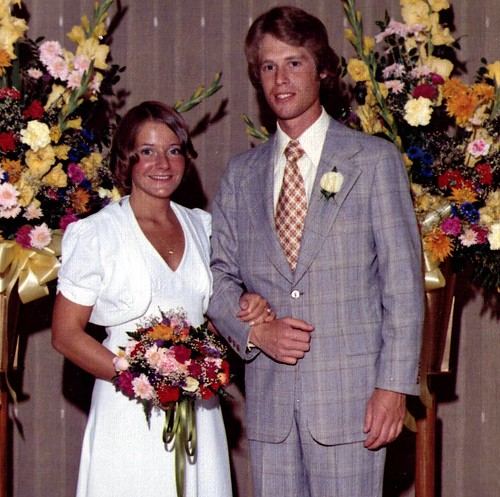 mom and dad - wedding picture edit