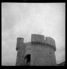 Tower of Dubrovnik (Ray Cunningham) Tags: kodak croatia communism tito dubrovnik negatives yugoslavia dalmatia raycunningham raymondcunningham zaruka raymondkcunninghamjr