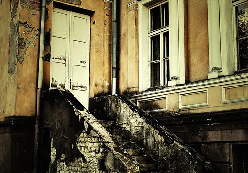 Plungės parkas - Oginskio rūmai | Laiptai