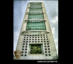 MCB Tower :: HDR (Xploiтєя ™) Tags: world city travel windows friends pakistan light summer vacation copyright holiday black building eye art love me photoshop geotagged fun photography idea nikon asia king heart you © captured passion karachi hdr atif mcbtower mywinners anawesomeshot theunforgettablepictures thesuperbmasterpiece xploiter nikoncorperation pakistantallestbuilding