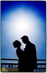 In Brightest Day… (Ryan Brenizer) Tags: nyc newyorkcity wedding portrait newyork love silhouette backlight groom bride nikon gothamist chelseapiers 135mmf2ddc d700 elenaandjon