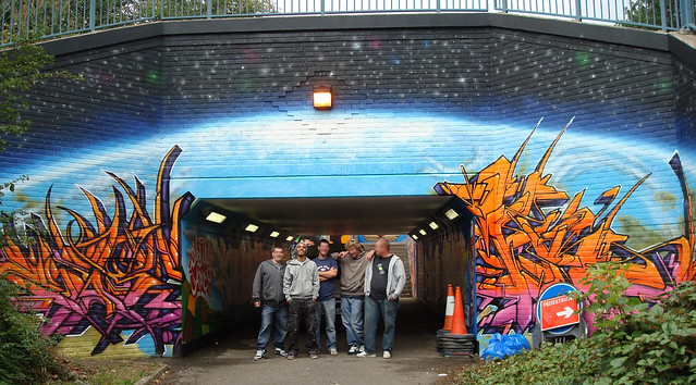 Group shot.subway project.  bread & butter.... work stuff