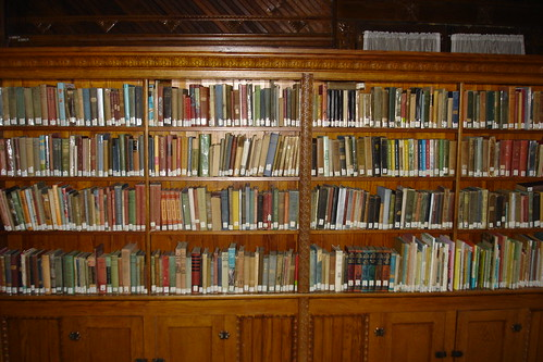 Books in the old library