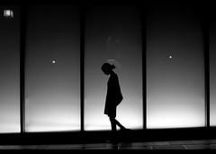 Silhouette… (Noisy Paradise) Tags: street city light urban bw girl monochrome silhouette japan night tokyo blackwhite alone sigma explore 東京 aoyama frontpage foveon 夜 dp2 japanatnight モノクローム fivestarsgallery 真夜中 platinumheartaward sigmadp2 noisyparadise σιγμα