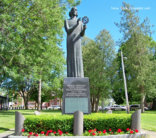Copernicus Monument in Utica