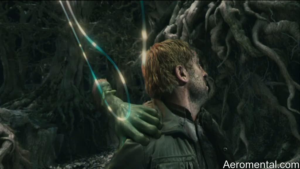 Imaginarium del Doctor Parnassus mano verde