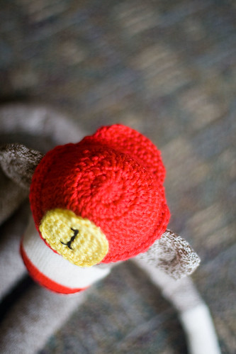 craft hope sock monkey
