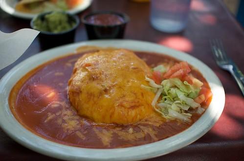 El Patio (Albuquerque) Stuffed Sopapillo
