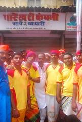 Raju Langewal and Kolhapuri Dancers (firoze shakir photographerno1) Tags: urban streetphotography hinduism visarjan hardcorestreetphotography hindus hopeandhindutva lalbaughcharaja lalbaghcharajavisarjan2009 leavesthepandal lalbaghchyarajavisarjan