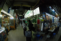 07 - The ground floor of Chungking Mansions is filled with Indian food, phone cards and people galore