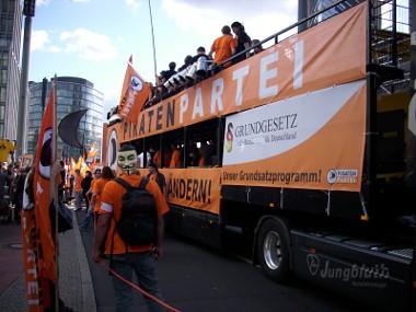 Freiheit statt Angst 09 - Piratenpartei