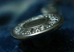 The Original Button Fly (EXPLORED) (Atul Tater) Tags: blue jeans denim levis levistrauss 501 metalbutton theoriginalbuttonfly
