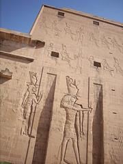 Temple of Horus in Edfu (captain doodle) Tags: africa cruise temple egypt nile horus edfu