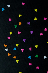 sprinkle some love around (ion-bogdan dumitrescu) Tags: pink blue wallpaper orange white black macro green love colors yellow flickr colours dof purple heart sweet background sprinkles shape sprinkle bitzi ibdp mg0228 findgetty ibdpro wwwibdpro ionbogdandumitrescuphotography