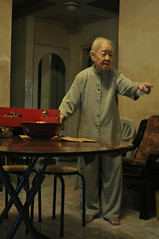 (made of tiny boxes) Tags: china old woman point xiamen years  103 greatgrandmother
