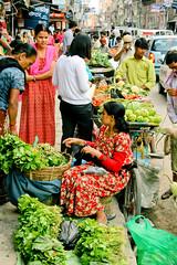 market @ lalitpur (pablo_martin) Tags: street nepal vegetables salad market kathmandu patan nepali vendors lalitpur