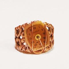 Temporal Limbo Ring (steampunk ring)
