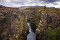 Tectonic Chasm - Iceland (D'ArcyG) Tags: rock clouds iceland landsape tectonic