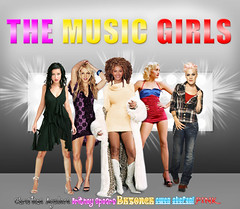 the music girls! (BETHGON blends) Tags: flickr princess spears pop princesa britney blend bethgon