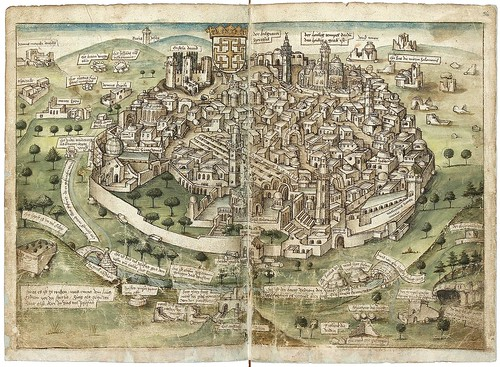 Konrad von Grünenberg - Beschreibung der Reise von Konstanz nach Jerusalem 1487 a