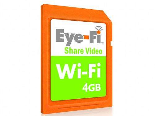 Eye-Fi Wi-Fi Wireless SD/SDHC Memory Card 4GB Share Video