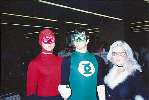 Daredevil, Green Lantern, and The Black Cat