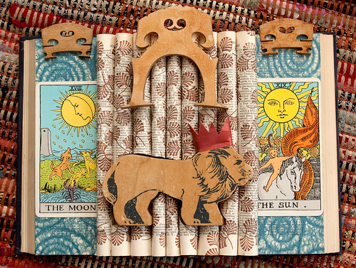 Altered Book: King of the Beasts