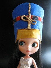 Queen Nefertiti's headdress