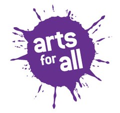 Los Angeles County Arts Commission Arts for All Logo