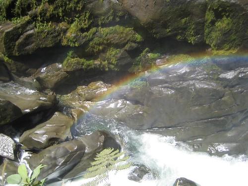 Pailón del Diablo falls