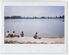 Srah Srang (shinycity) Tags: fishing asia cambodia siemreap instax