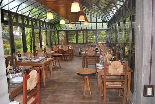 Restaurante de inverno da Vinícola Zuccardi