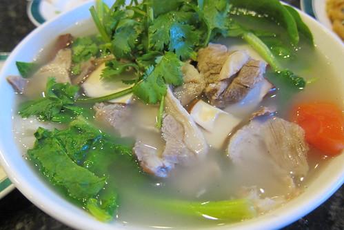 JTYH: Lamb Noodle Soup (Knife-Shaved)