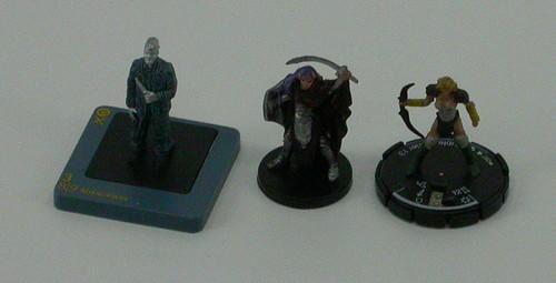 Dreamblade mini; Mage Knight mini; Medium D&D mini