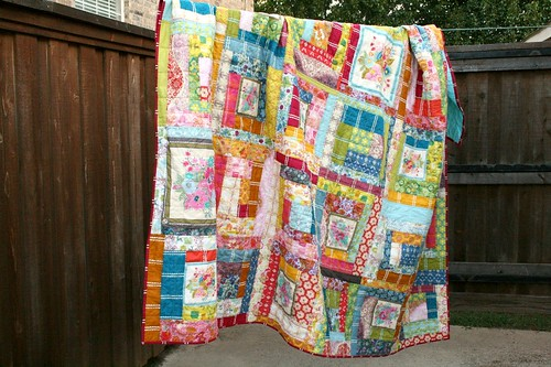 Little Folks Log Cabin Quilt