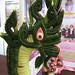 Dragon leaf sculpture
