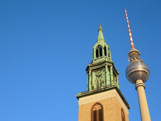 kirche und turm
