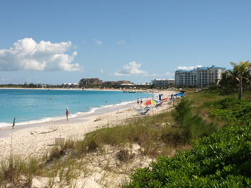 Beach by Condo. BAR1967. Caicos