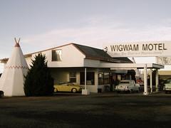 Entrance to The Wigwam Motel (Argyle Dinosaur) Tags: arizona motel holbrook wigwam