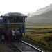 The rail journey from Cusco to Puno