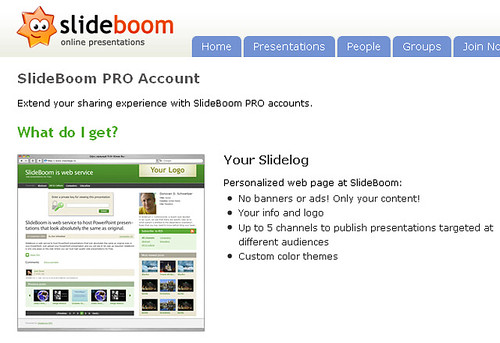 SlideBoom Pro Account