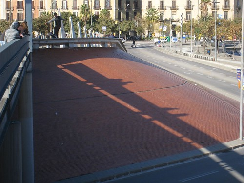 I saw more skaters in Barcelona than any other city on my trip