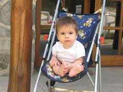 """en la puerta de """"La Posada del Angel"""" (Al Zuwaga) Tags: summer baby argentina beb crdoba vacaciones hollidays ezequiel kelo veraneo posadadelangel"""