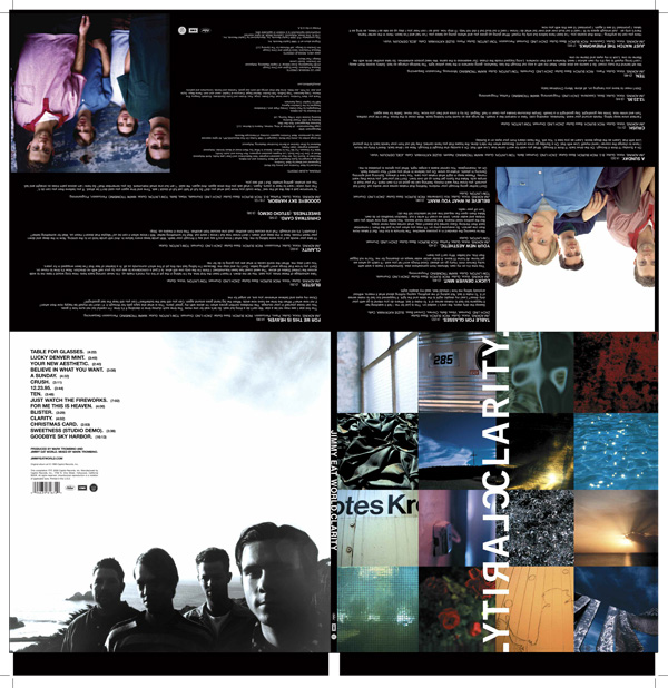 Jimmy Eat World - 10th Anniversary Clarity Reissue