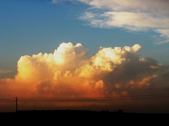 South Africa, Johannesburg: Sunset Clouds