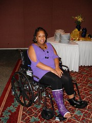 purple (chilltown1) Tags: toes cast ankle