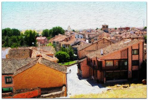 Tejados de Turégano. Segovia